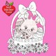 Clipart, Digital Stamps, Easter Bunny Digital stamps, line drawing, AMB-1174