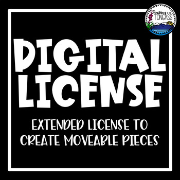 Clipart Digital Use License (digital resource license)