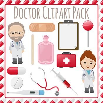 Doctors Visit Clip Art Pack for Commercial Use