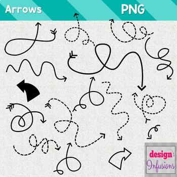 Clipart: Doodle Arrows {Growing Bundle}