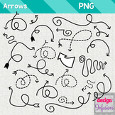 Clipart: Doodle Arrows {Growing Bundle}