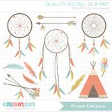 Clipart - Dream Catchers / Tribal / Aztec / Navajo / American Indian