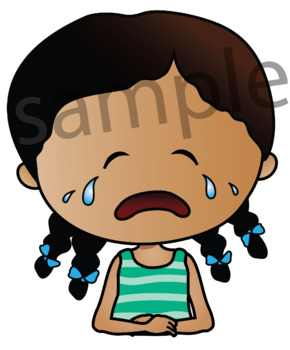 Clipart EMOTIONS {Lilly Silly Billy}