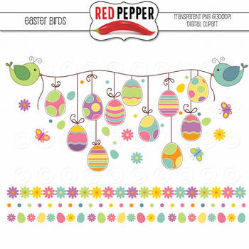 Free Clipart - Easter Birds