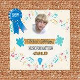 ★NEW★ $20 Music For Matthew Digital Paper
