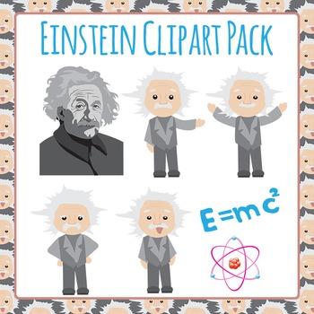 Einstein Clip Art Pack