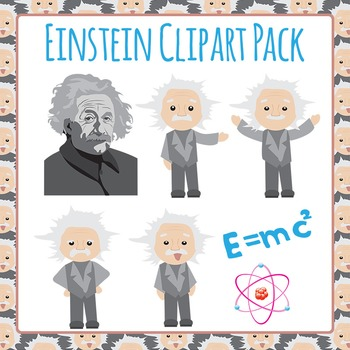 Einstein Clip Art Pack