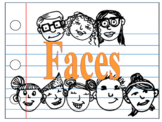 Clipart, Faces, Kiddos, Middle, Elementary, Students, Children