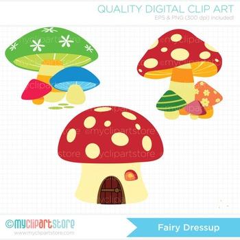 Clipart - Fairy Princess Dressup