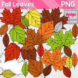Clipart: Fall Leaves