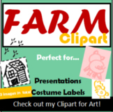 Clipart, Farm, Images, Add to Slide Decks, Printables, Lab