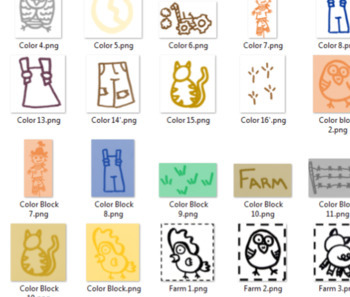 Clipart, Farm, Images, Add to Slide Decks, Printables, Labels, and Visuals
