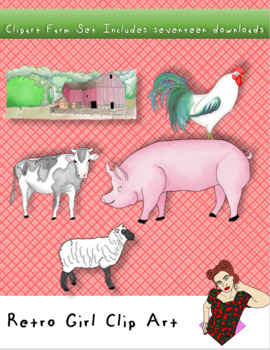 Clipart Farm Set