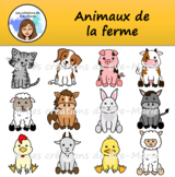 Clipart - Farm animals