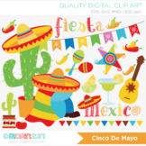 Cinco De Mayo Clipart, Fiesta Mexico