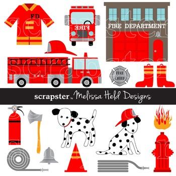 Clipart: Fire Department Clip Art