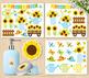 Clipart - Sunflower Garden (Spring / Summer) / Sunflowers