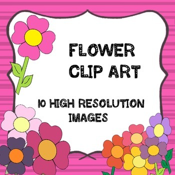 Clipart- Flowers - Digital Images