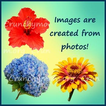Flower Clipart Mix 1 Photo Clipart