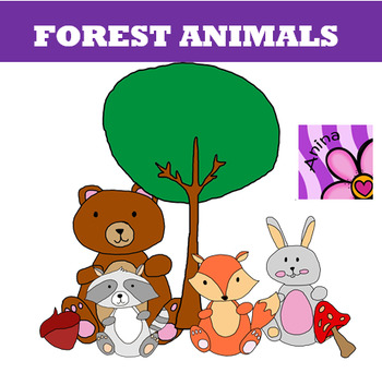 Clipart Forest animals
