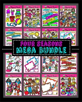 Clipart: Four Seasons Mega Bundle