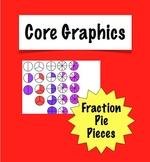 Clipart Fraction Pie Pieces Clip Art