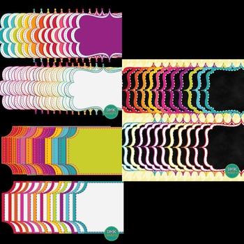 Clipart- Frames- Bright Frame Bundle