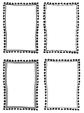 Clipart Frames in Black & White