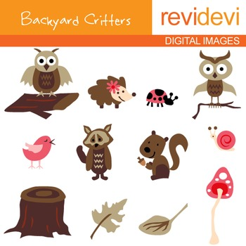 Clipart Free - Backyard Critters