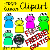 Clipart Frog Animal Rana Graphics Flash Freebie 48h Free Gratis Commercial use