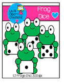 Clipart - Frog Dice
