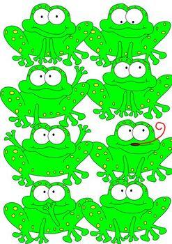 Clipart - Frog Froggies