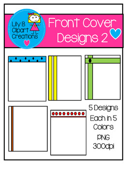 Clipart - Front Cover Designs 2