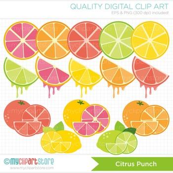 Clipart - Citrus Punch / Fruit