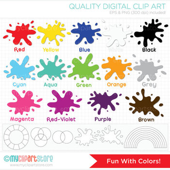 Clipart - Fun with Colors