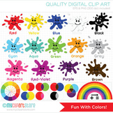 Clipart - Fun with Color, Color Wheel, Back to School