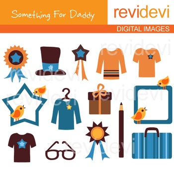 Clipart Gift for Men - Father's day clipart