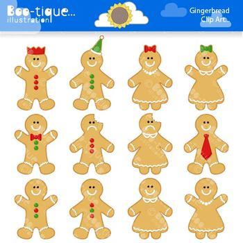 Clipart Gingerbread Man Clip Art
