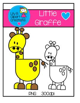 Clipart - Little Giraffe