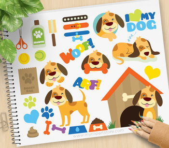 Clipart - My Little Doggy / Puppy Dog / Pets