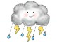 Groundhog Day/Weather Clipart {February}