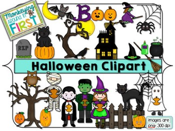 Halloween Clipart {October}