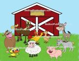 Clipart: Happy Farm Animals