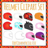 Helmet Clip Art Set for Commercial Use