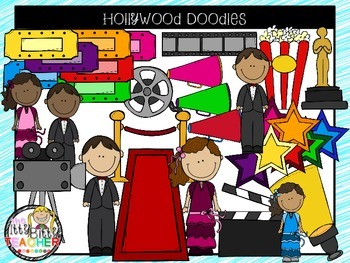 Clipart - Hollywood Doodles