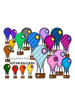 Clipart Hot Air Balloons