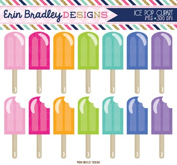 Clipart - Ice Pops