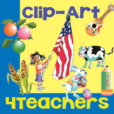 Clipart Images for School Teachers {Commercial and Personal Use}