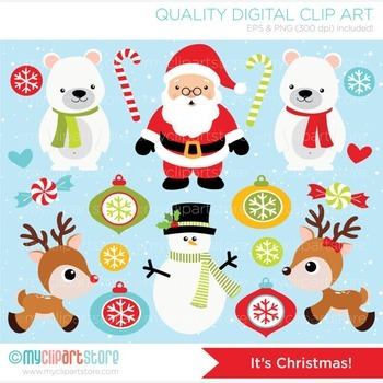 Clipart - It's Christmas!