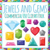 Jewels and Gems Clip Art Commercial Use Clip Art Pack